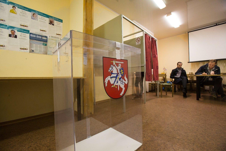 Vyksta Seimo rinkimai:nuotraukose