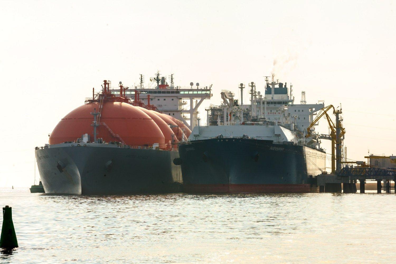SkGD bunkeriavimo laivas Klaipėdoje – 2018 m. pabaigoje