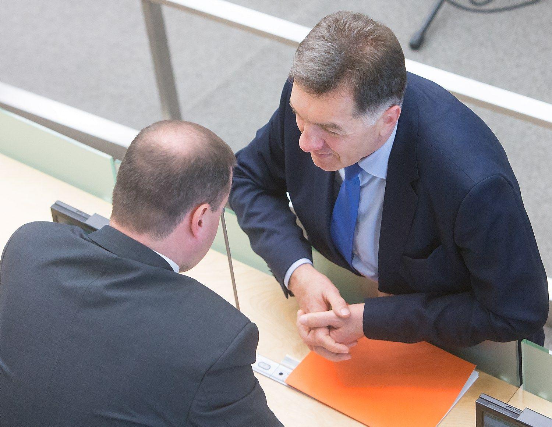 Butkevičius pasikalbėjo su Skverneliu, pokalbius tęs po rinkimų