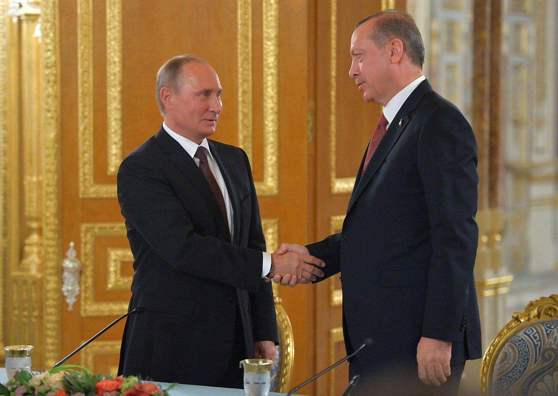 """Rusija ir Turkija susitarė dėl dujotiekio """"TurkStream"""""""