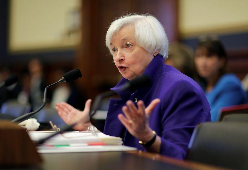 "Janet Yellen, FED vadovė. Joshua Robertso (""Reuters"" / ""Scanpix"") nuotr."