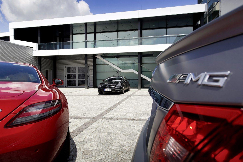 �Mercedes-Benz� nori elektrinio AMG superautomobilio