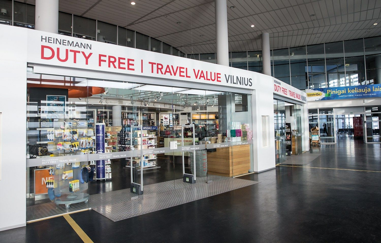 Vilniaus oro uoste įsigytas prekes siūlo atgabenti į namus