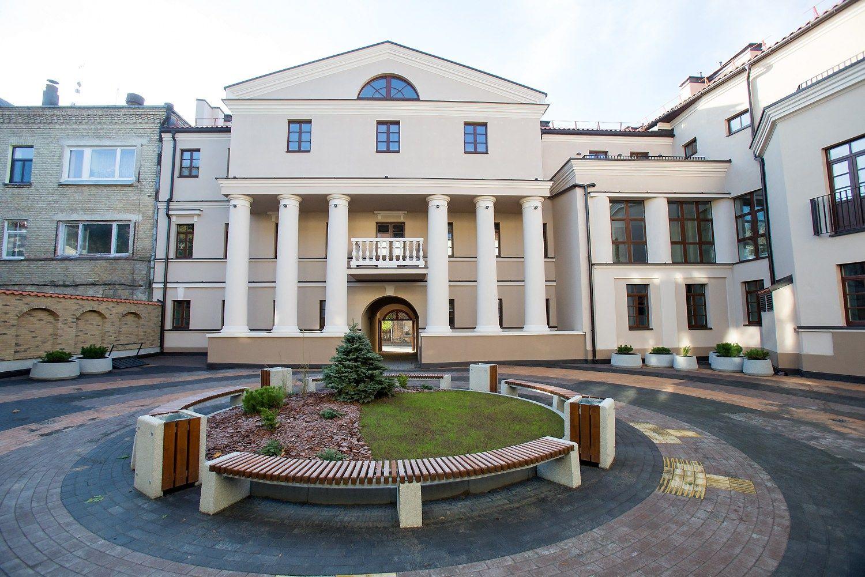 Rekonstravo pastatą Užupyje, pasiūlė 37 butus