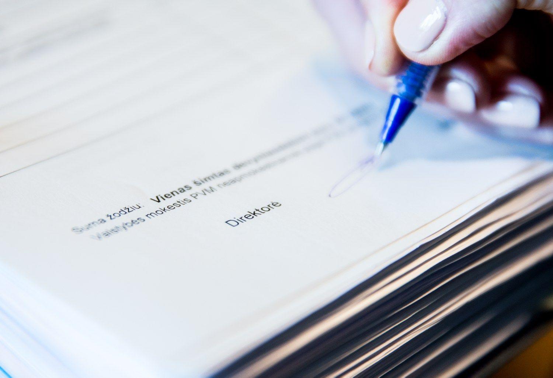 VMI: išspausdinta PVM sąskaita turi juridinę galią