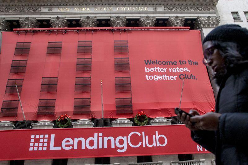 """Per šiuos metus finansinių technologijų sektoriaus akcijos pabrango beveik 9%, o visa JAV akcijų rinka – beveik 5%. Brendano McDermido (""""Reuters"""" / """"Scanpix"""") nuotr."""