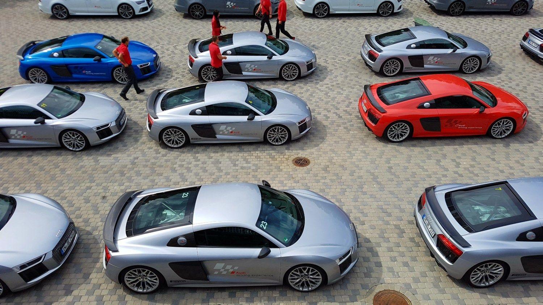 �Audi R8� ir vienas greitas ratas