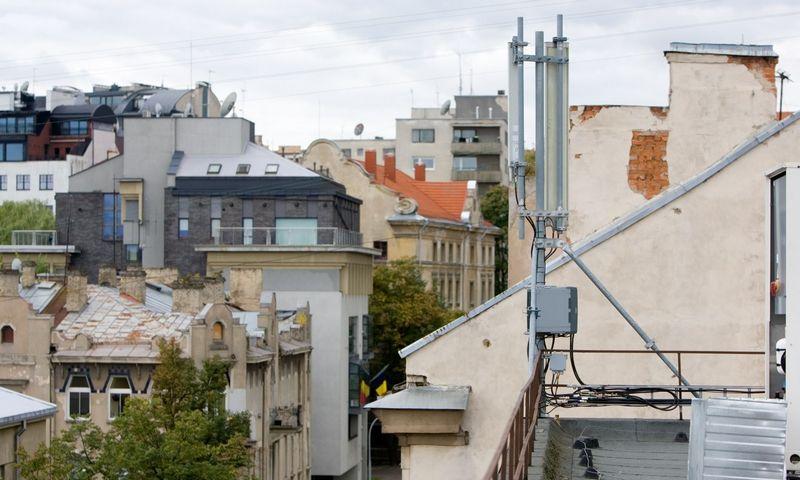 Mobiliojo ryšio operatoriai kaip svarbiausias šių metų investicijas ir darbus įvardija LTE (4G/4G+) tinklo plėtrą. Iki metų pabaigos visų trijų didžiųjų operatorių LTE tinklai turėtų apimti beveik visą Lietuvą. Juditos Grigelytės (VŽ) nuotr.