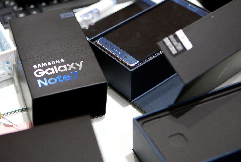 """""""Samsung"""" atlygins žalą detalių tiekėjams už nepagamintus """"Galaxy Note 7"""""""