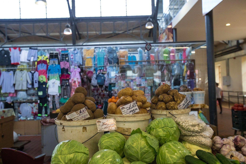 Patikrinimas turgavietėje: kas antras prekeivis – neregistravęs veiklos