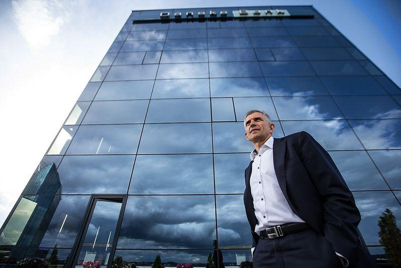 """Gintautas Galvanauskas, banko """"Danske bank"""" generalinis direktorius: """"Keičiasi ir griežtėja bankų reglamentavimas ir reguliavimas, vadinasi procesai taps sudėtingesni, prireiks ir solidžių investicijų – tai taip pat iššūkis bankų sistemai"""".  Juditos Grigelytės (VŽ) NUOTR."""