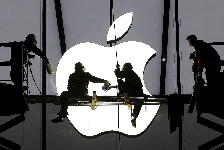 �Apple� mina ant stabd�i� � savo automobilio negamins