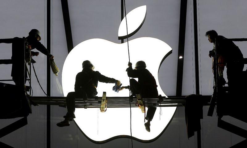 """Apple"" nuosavo automobilio nebegamins. Chance'o Chano (""Reuters"" / ""Scanpix"") nuotr."
