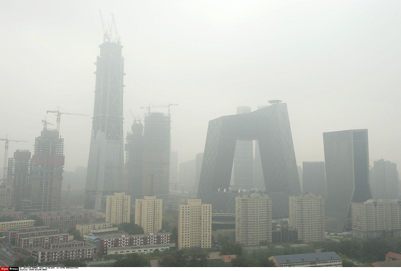 Trečią ketvirtį Kinijos BVP augo 6,7%