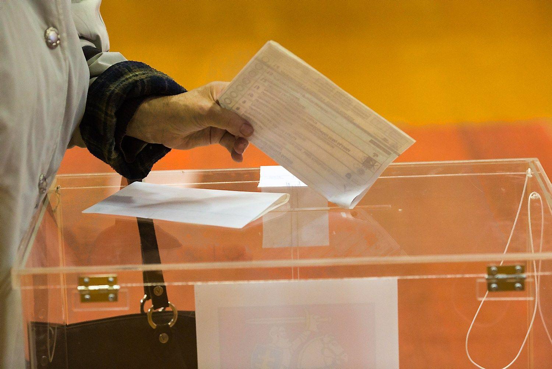 Vyksta i�ankstinis balsavimas antrajame Seimo rinkim� ture