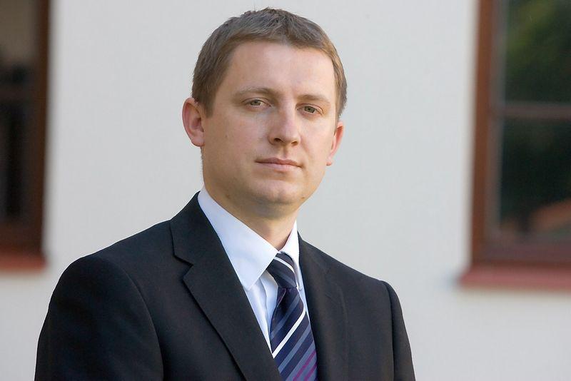Domas Klimavičius, Šiaulių banko finansų makleris. Vladimiro Ivanovo (VŽ) nuotr.