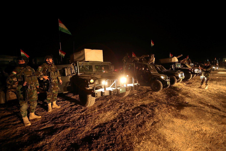 Mosulo atkovojimas vyksta spar�iau nei tik�tasi