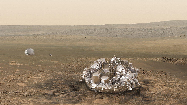 Marse tur�j�s nusileisti robotas � nepasiekiamas
