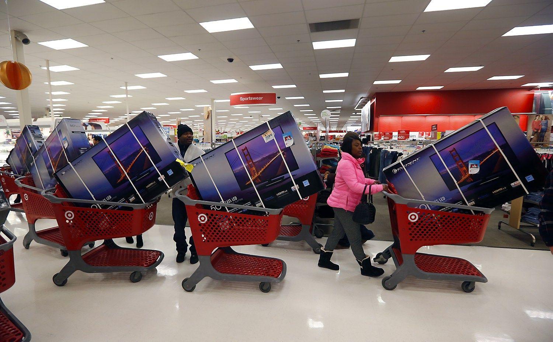 JAV prekybininkai tikisi gausesnio kal�dinio vartojimo