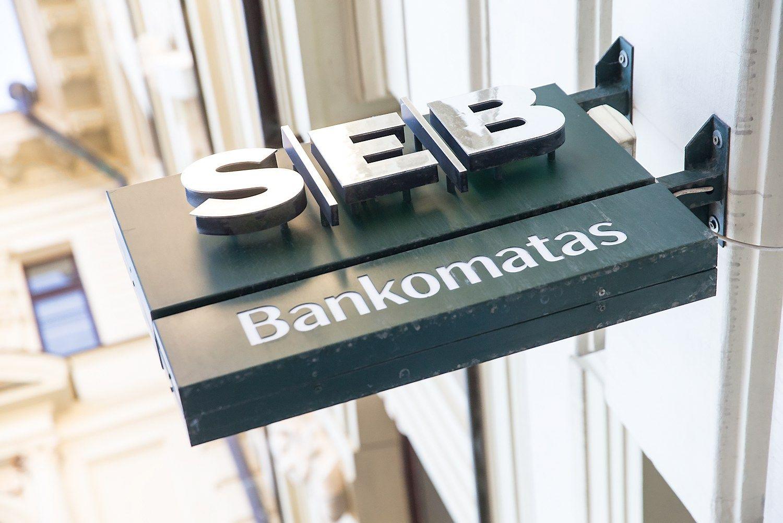 SEB Lietuvoje pelnas i�augo 38%