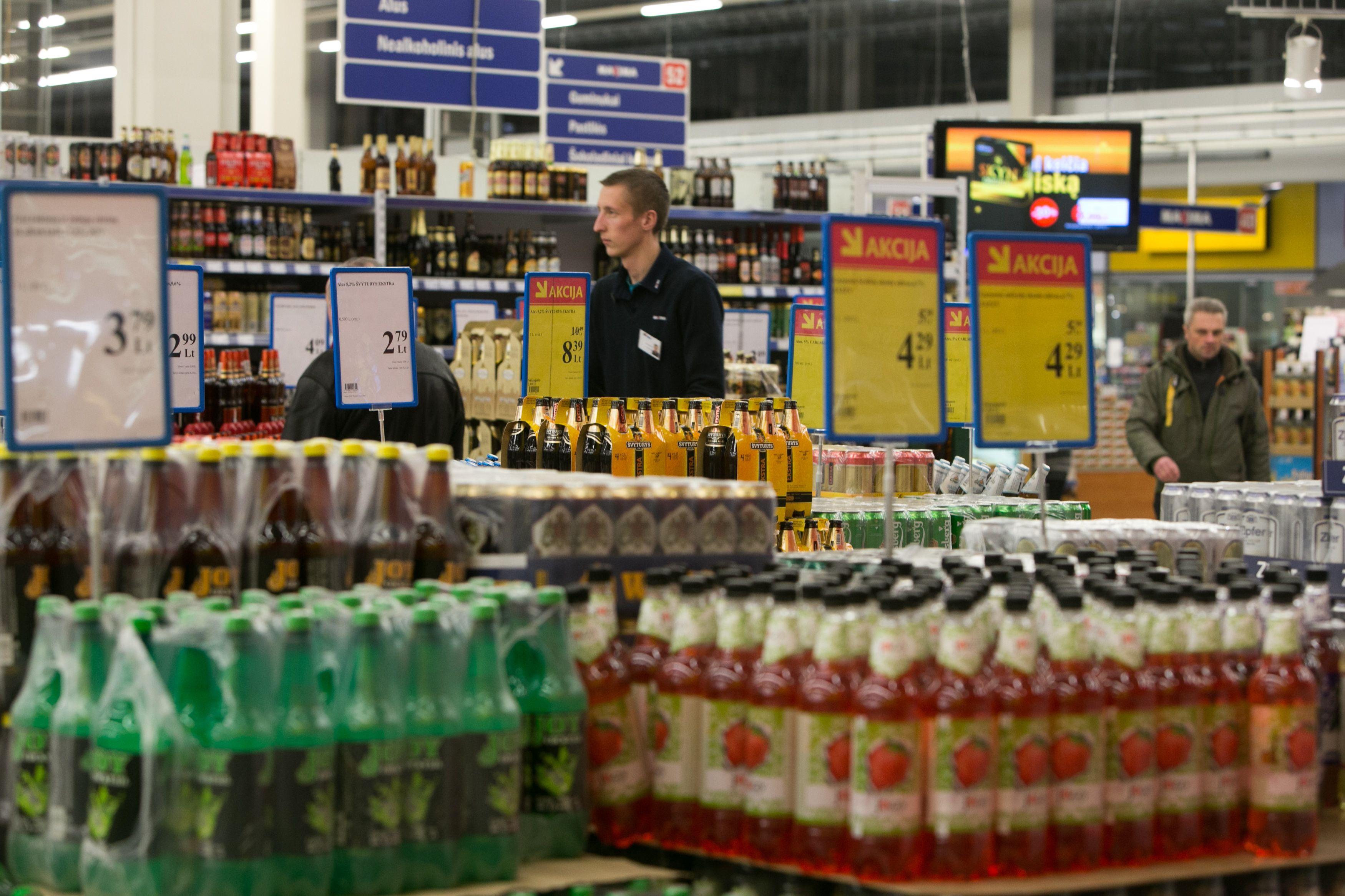 Alkoholio akcij� draudimas � nuo lapkri�io: kam nauda, kam nuostoliai