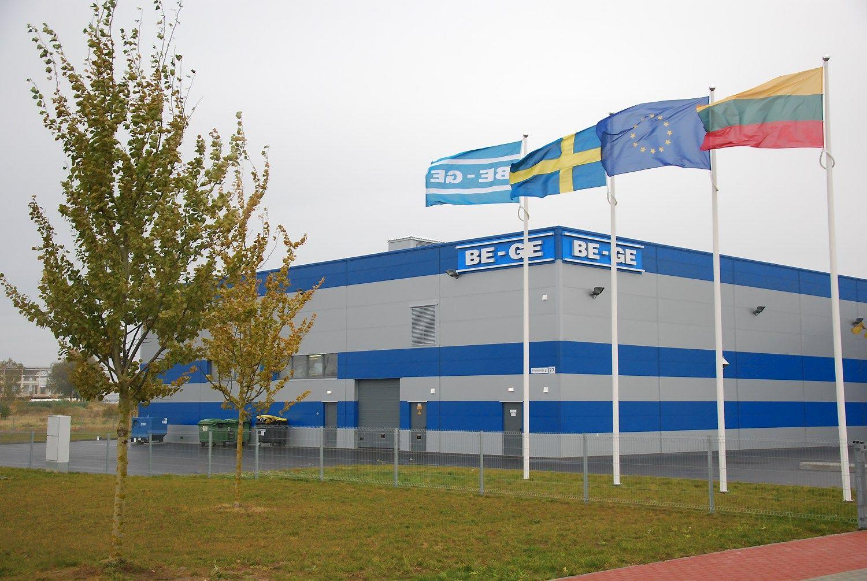�Be-Ge Baltic� naujojoje gamykloje � efektyviau ir na�iau