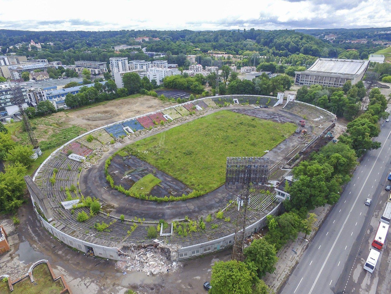 Stringa Avulio planai ��algirio� stadiono teritorijoje