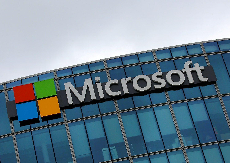 Po rezultat� paskelbimo �Microsoft� akcijos siekia auk�tumas