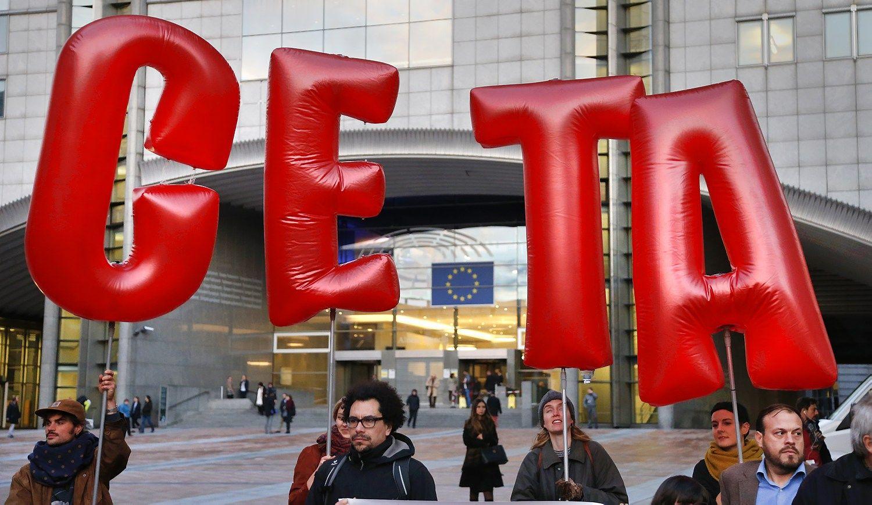 Valonija nenusileid�ia d�l CETA sutarties
