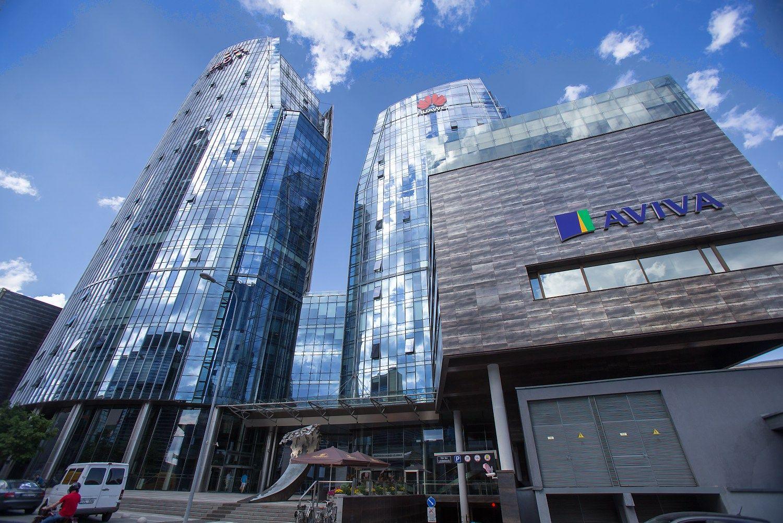 �Swedbank� i�sirinko nauj� biur� � kelsis � �tre�i� bur� Konstitucijos prospekte