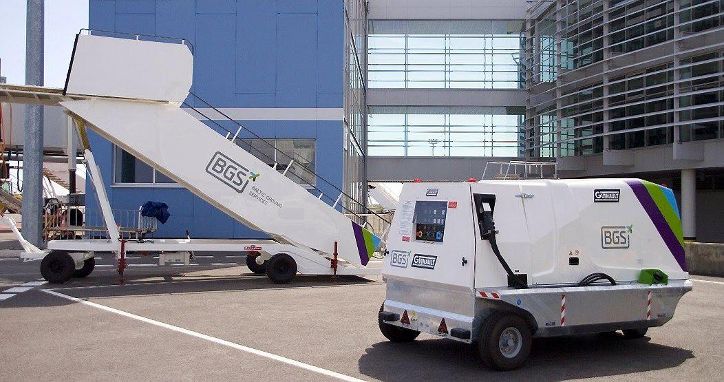 BGS oro uostus aptarnaus elektromobiliais, investuoja 18 mln. Eur