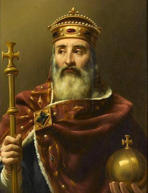 �Iliustruotoji istorija�: Karolis Didysis � Europos vienytojas