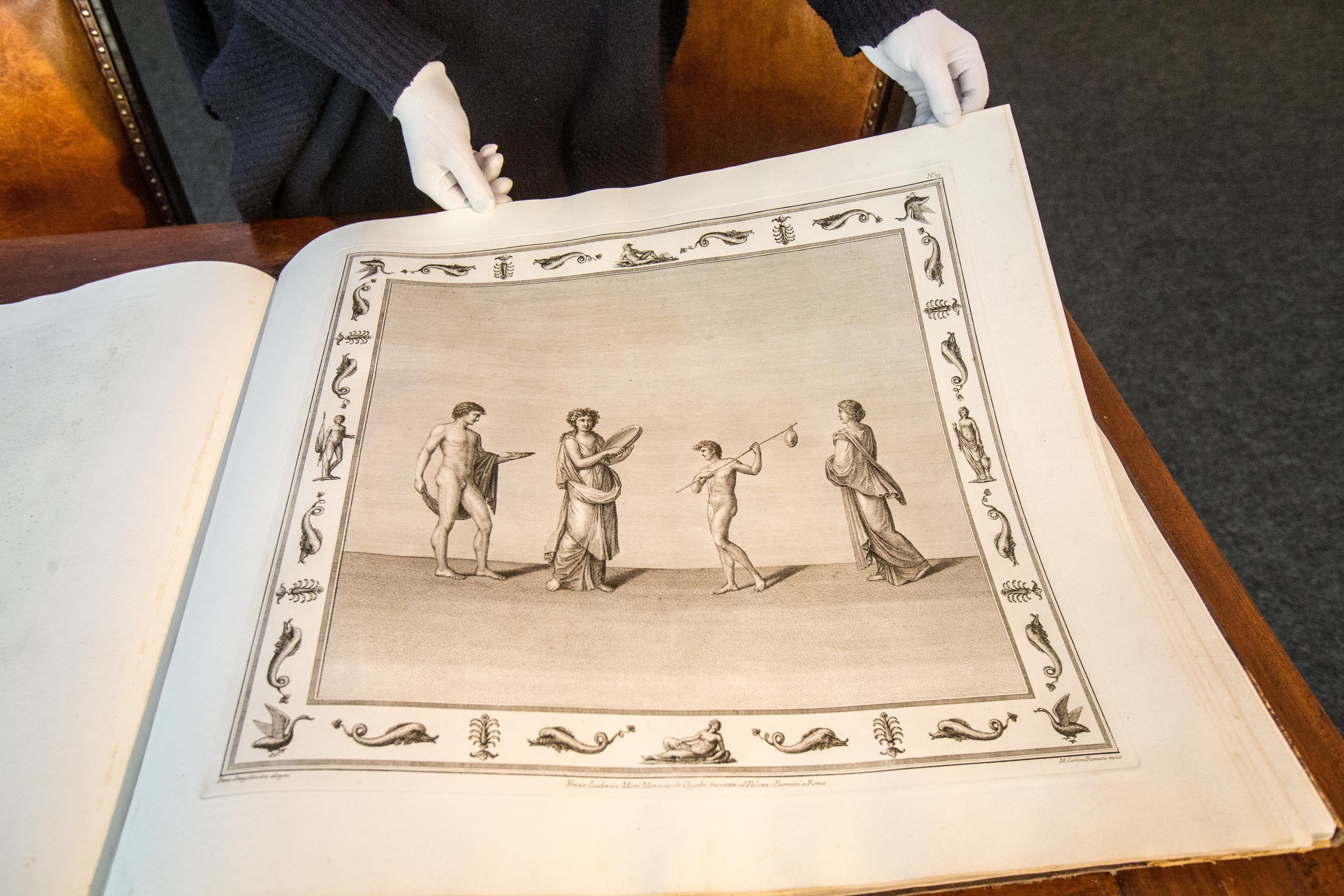 Pranci�kaus Smuglevi�iaus darbai i� priva�i� kolekcij�