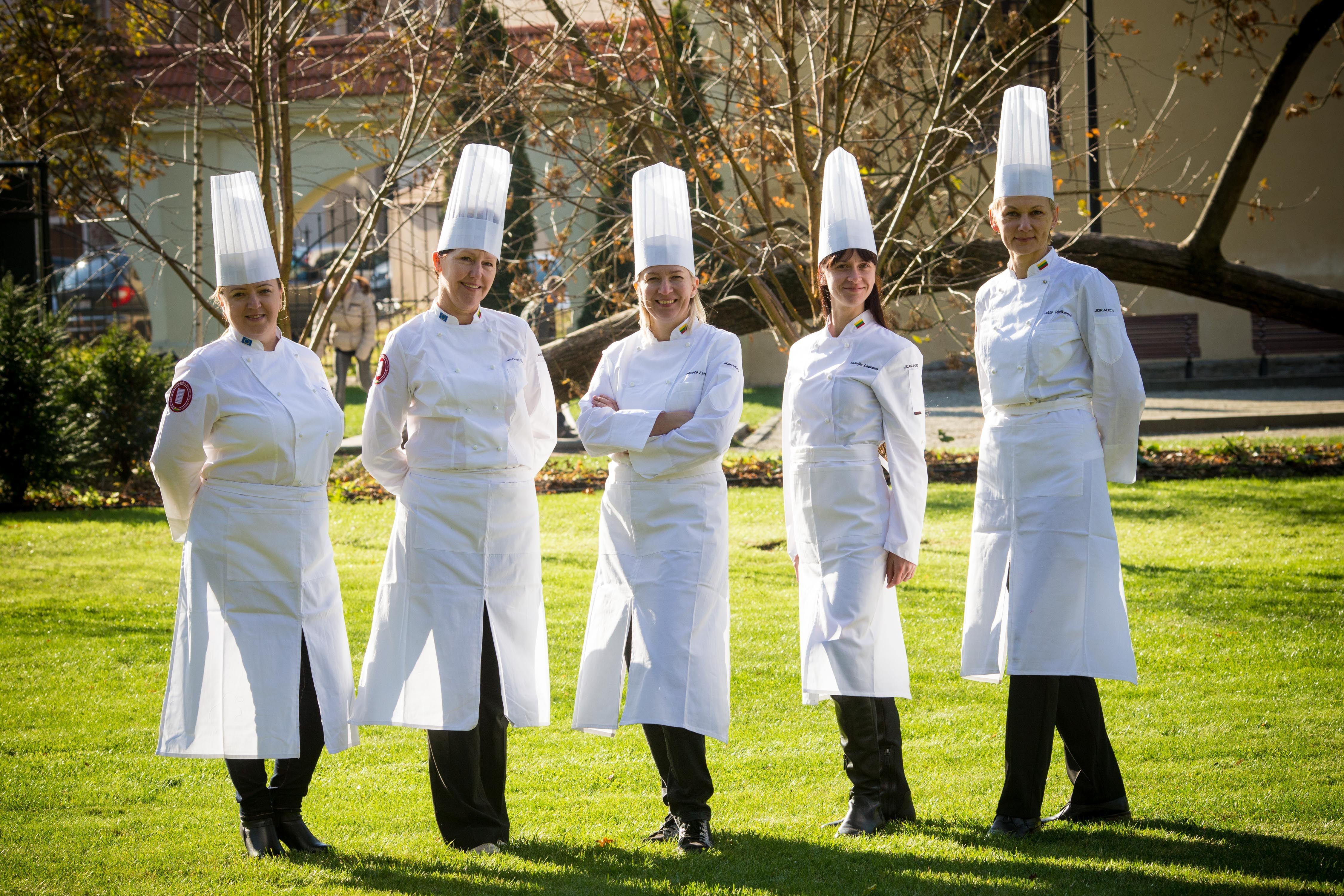 Virtuvės meistrų kovos – nuo Erfurto iki Vilniaus