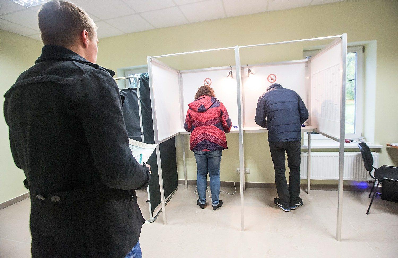 I�ankstiniame balsavime dalyvavo 4,7% rink�j�