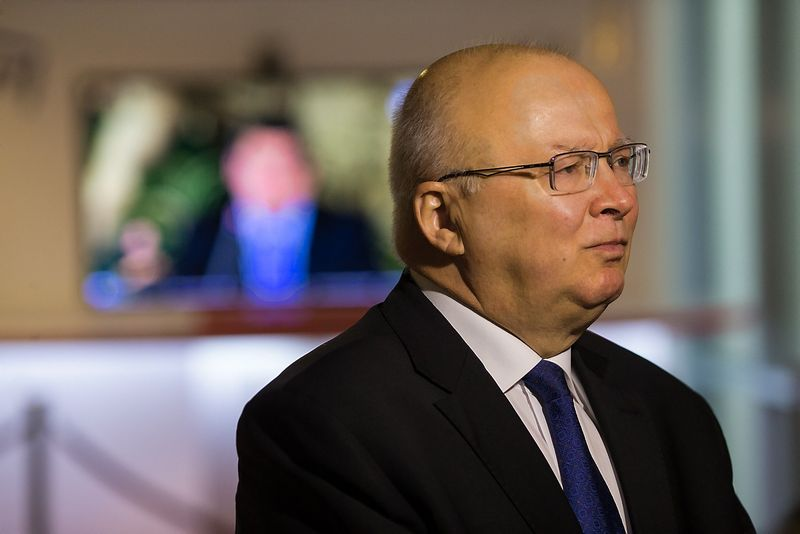 Zenonas Vaigauskas, Vyriausiosios rinkimų komisijos (VRK) pirmininkas. Vladimiro Ivanovo (VŽ) nuotr.
