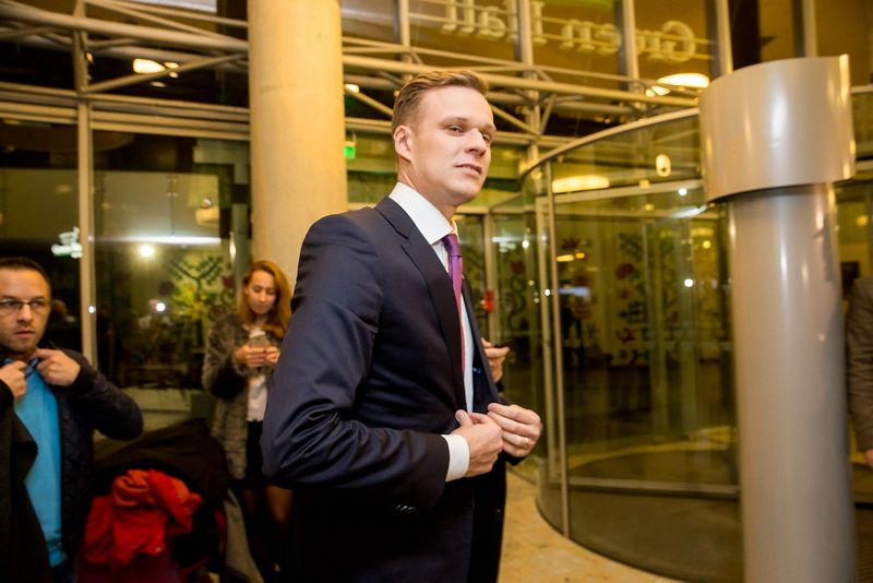 Gabrielius Landsbergis, TS-LKD pirmininkas. Juditos Grigelytės (VŽ) nuotr.