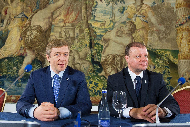 VŽS žada įtraukti prezidentę į koalicines derybas, bet ne per daug