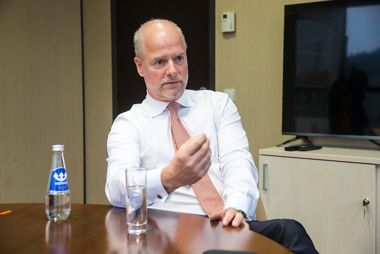 �Danske Bank� : Lietuvoje reik�mingai suma�iname grup�s s�naudas