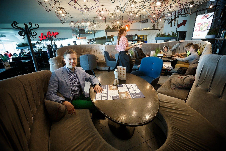 Restoranai darbuotoj� ie�ko Ukrainoje ir Baltarusijoje