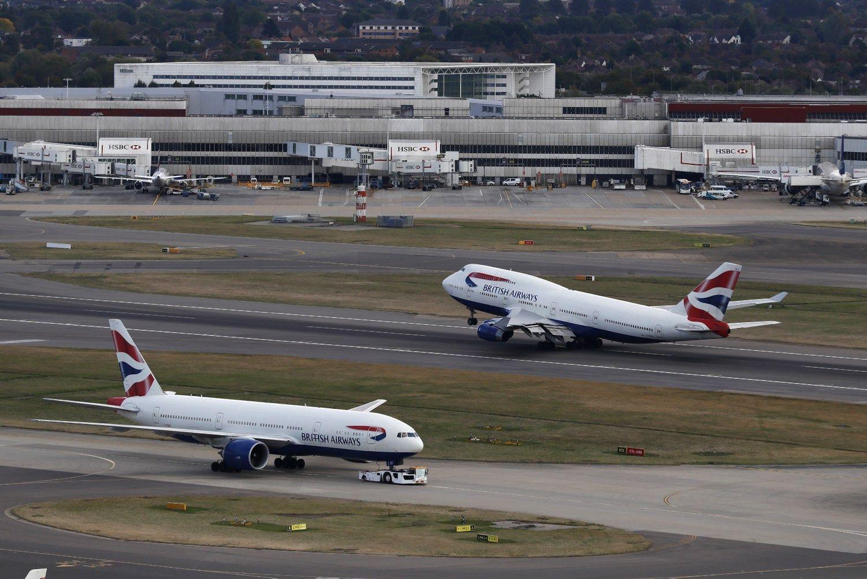 Britai nusprend� pl�sti Hitrou oro uost�
