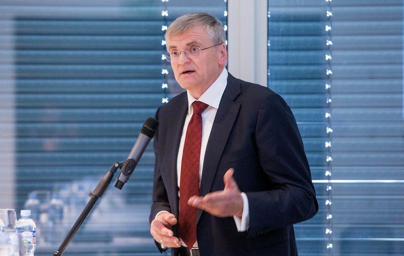 Stasys Kropas, Lietuvos bankų asociacijos prezidentas. Juditos Grigelytės (VŽ) nuotr.