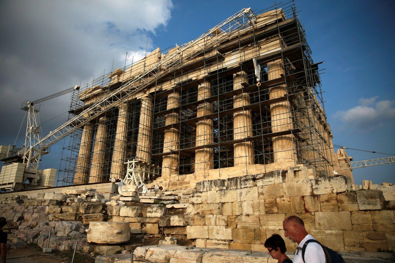Sutarta dėl 2,8 mlrd. Eur paskolos Graikijai