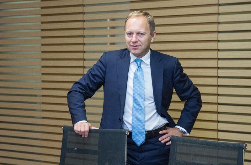 """Irmantas Norkus, Baltijos šalyse ir Baltarusijoje veiksiančios advokatų kontoros """"Cobalt"""" vadovaujantis partneris Lietuvoje. Juditos Grigelytės (VŽ) nuotr."""