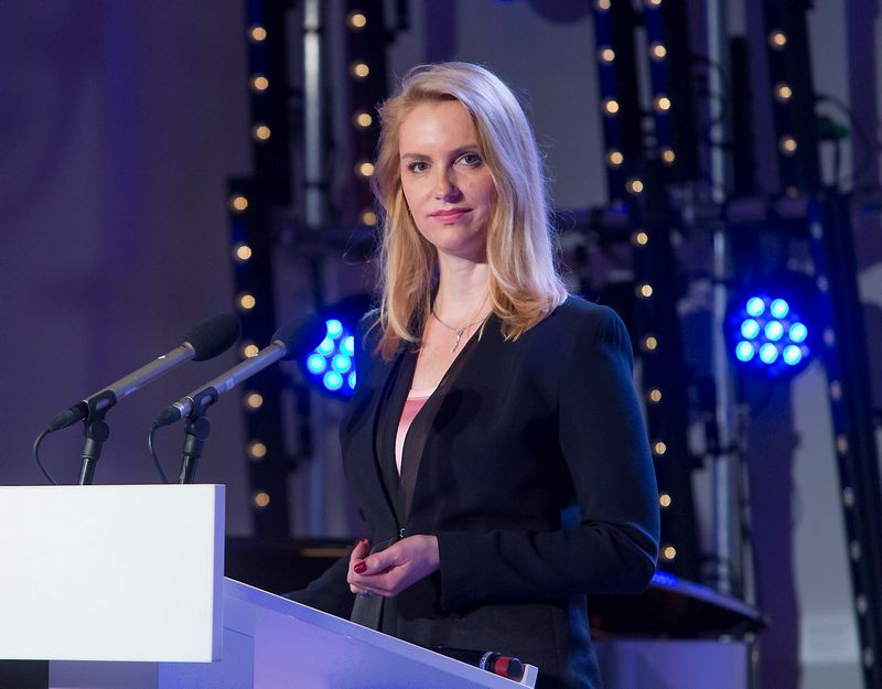 """Inga Skisaker, banko """"Nordea"""" generalinė direktorė Baltijos šalyse. Juditos Grigelytės (VŽ) nuotr."""