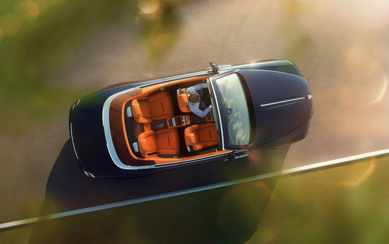 """Rolls-Royce Dawn"" modelis. Gamintojo nuotr."