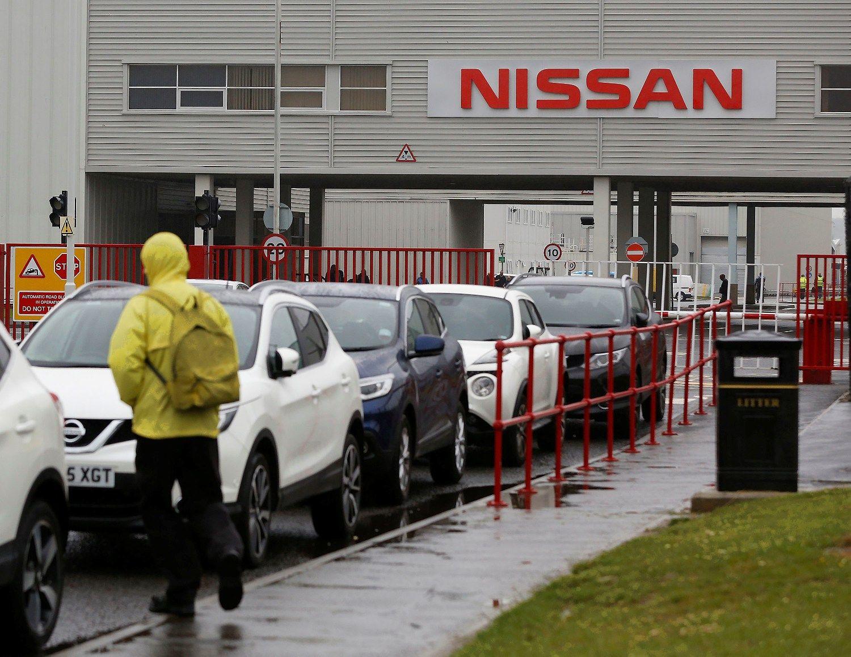 """""""Nissan"""" apsisprendė: toliau investuos Didžiojoje Britanijoje"""