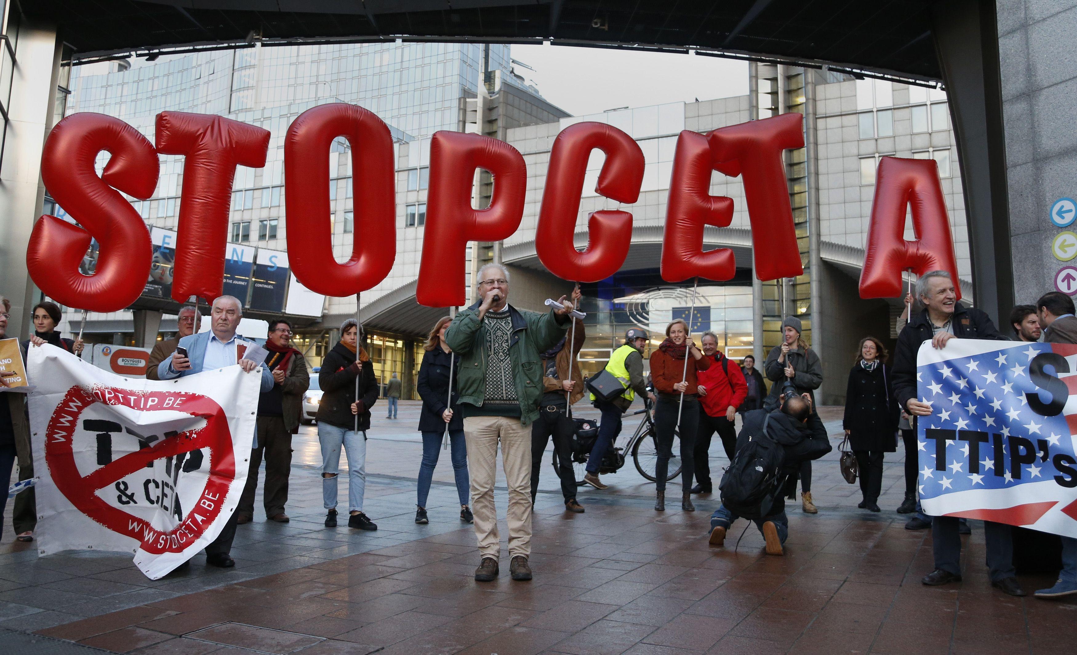 Belgijos drama baig�si: pritaria CETA sutar�iai