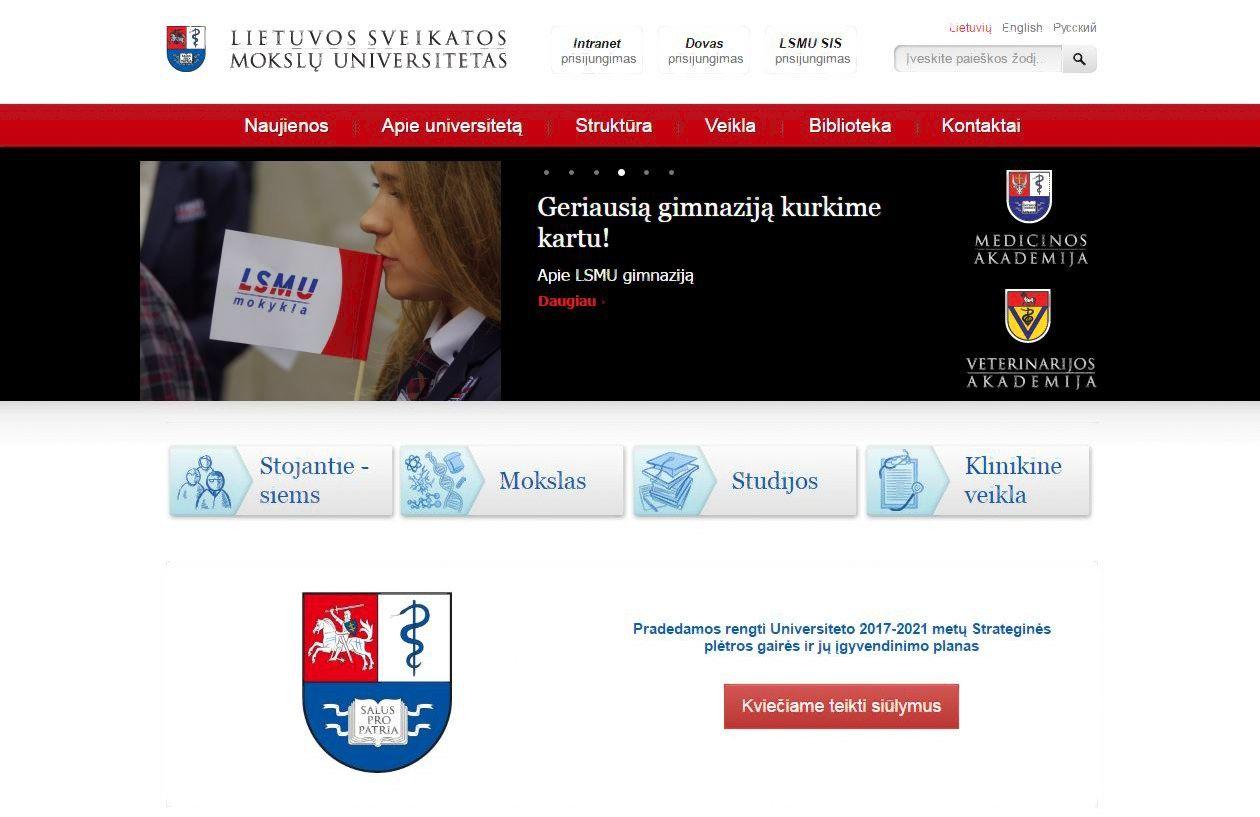 Universitetas teisme apgyn� savo domen�