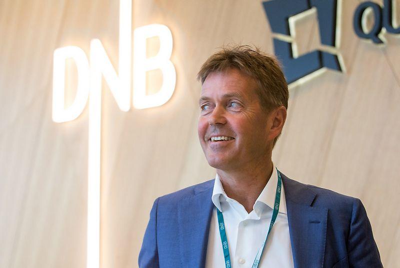Bjornaras Lundas, AB DNB valdybos pirmininkas ir prezidentas.  Juditos Grigelytės (VŽ) nuotr.